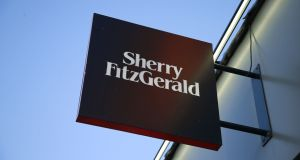 Turnover at Sherry Fitzgerald increased by more than 12 per cent last year to €37.29 million. Photograph: Nick Bradshaw