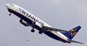 Ryanair  sparked outrage in recent weeks by cancelling about 20,000 flights after admitting it did not have enough standby pilots to operate its schedule without significant delays. Photograph: Regis Duvignau/Reuters
