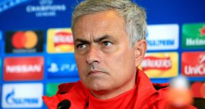 "Manchester United manager Jose Mourinho: ""Nobody can say I moan about injuries."" Photograph: Peter Byrne/PA Wire"