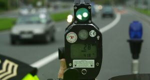 Another motorist was caught driving 171km/h in a 120km/h zone on the M7 in Nenagh, Co Tipperary. Photograph: Cyril Byrne