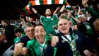 Republic of  Ireland fans will travel in numbers to Copenhagan. Photograph: James Crombie/Inpho