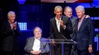 Five former US presidents hold concert benefiting hurricane relief efforts