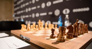 Everyone knows elite competition is as much a mental test as a physical one and it has been the basis for a sustained campaign by chess authorities for inclusion in the Olympics.  Photograph: Sebastian Reuter/Getty Images for World Chess by Agon Limited
