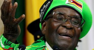 "The appointment of Zimbabwean president Robert Mugabe as WHO ""goodwill ambassador"" has been widely criticised. Photograph: Reuters"