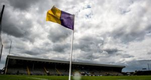 St Martins beat Oulart-the-Ballagh to win the Wexford club SHC final at Wexford Park. Photograph: Tommy Grealy/Inpho