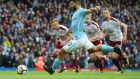 Manchester City eye record books as Burnley feel aggrieved
