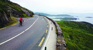 The Ring of Kerry route affords many wonderful views.