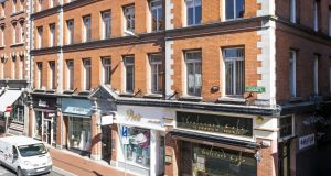 Exchequer Chambers: Much of the uplift in rents has been achieved in the letting of the upper floors which at the date of the sale were producing €143,500 via a lease with Eircom.