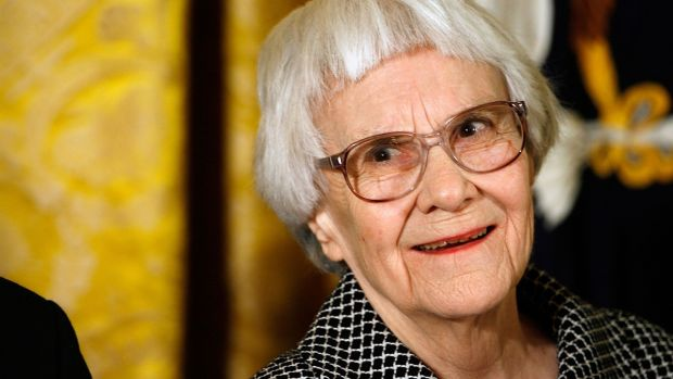 Harper Lee: As an autograph hunter I relish a challenge to get the elusive writer's signature. Photograph: Chip Somodevilla/Getty Images