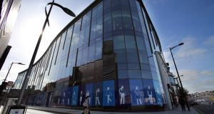 Apple's offices on Half Moon Street in Cork: property dealers Cushman & Wakefield have predicted that properties in Dublin and Cork would continue to attract investment