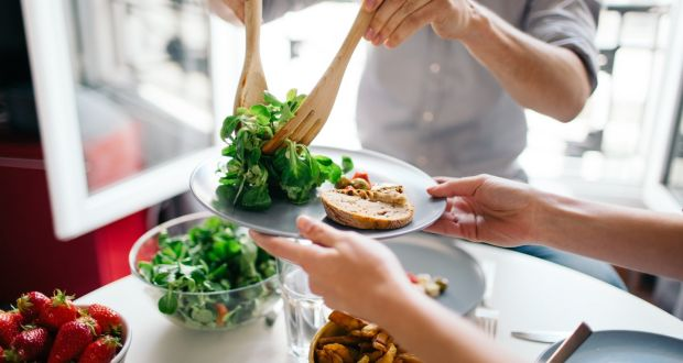 Health tip of the week: make it a goal to cut down portion sizes
