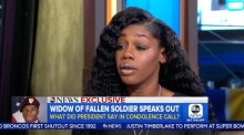 US war widow claims Trump could not remember fallen soldier's name
