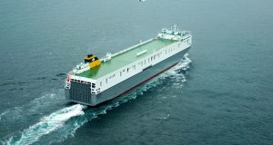 The MV Celine will begin sailing from Dublin Port at the end of this month