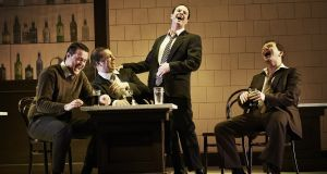The cast of Counterparts in Dubliners. Photograph:  Ros Kavanagh