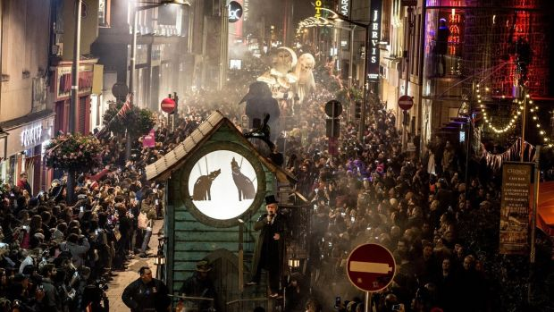 We got chills, they're multiplyin'. Check out the Macnas Halloween Parade in Galway and Dublin