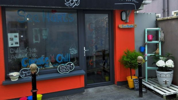 "Sea Harts, on Saddle Lane in Lahinch, Co Clare. A great place to ""create and chill"""