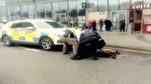 Eyewitness footage captures gardaí arresting man in Citywest