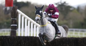 Bryan Cooper on  Disko. Disko was third to Our Duke  at Leopardstown last Christmas, but comprehensively reversed that form  at the same track a couple of months later. Photograph: Getty Images