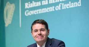 Paschal Donohoe: the Minister said  €1.5bn from ISIF's estimated €8.5bn total pot will be allocated for the establishment of the State's planned rainy day fund. Photograph: RollingNews.ie