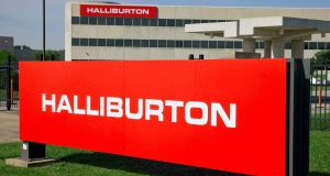 Halliburton is the market leader in the fracking industry. Photograph: Richard Carson