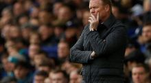 Ronald Koeman: sacked following a dismal run of form. Photograph: Lee Smith/Reuters