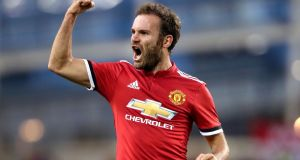 Juan Mata has called for Manchester United to pull together and return to the methods which saw them secure 10 wins and two draws from their previous 12 matches. Photograph:  Niall Carson/PA Wire