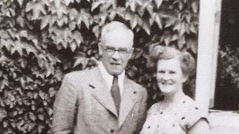 Con and Eileen Drury. Photograph: estate of Maurice O'Connor Drury