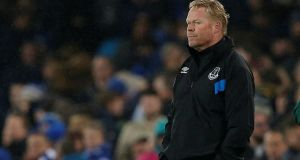 Ronald Koeman has said he is 'disappointed' after his Everton dismissal. Photograph: Andrew Yates/Reuters