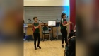 World champion Irish dancers perform in Castlebar