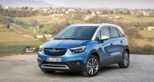 Style-wise, the Crossland X is actually quite handsome from the front