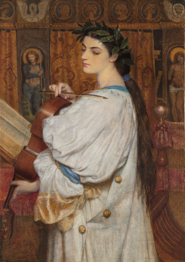 For the Love of Art: Cassandra Fedele, by Frederic William Burton. Photograph courtesy of Dublin City Gallery the Hugh Lane