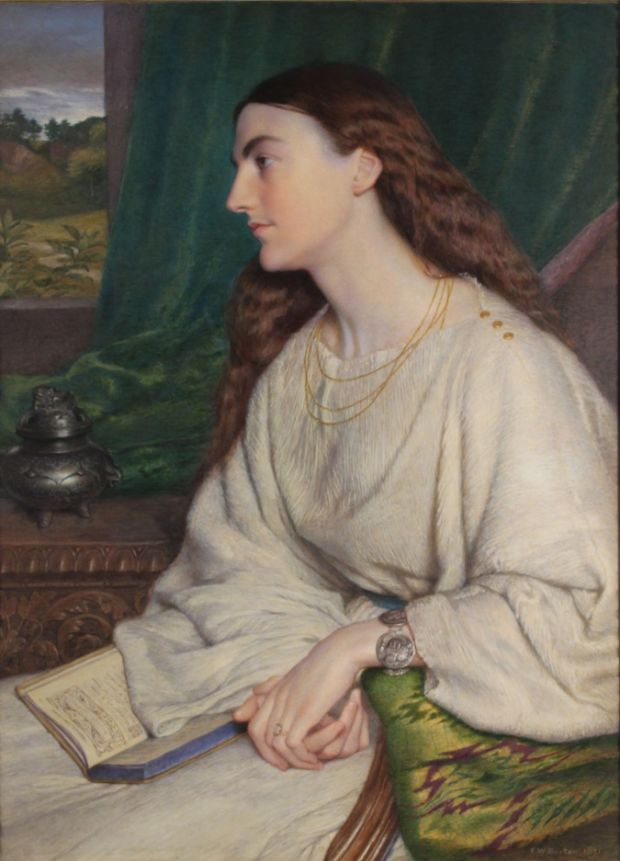 For the Love of Art: Portrait of Mary Palliser, by Frederic William Burton. Photograph: Provincial Archives of Saskatchewan