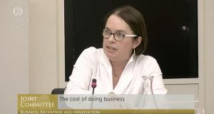"Cora O'Brien of the Irish Tax Institute told an Oireachtas committee that ""high tax rates do not equal high yield from tax"""