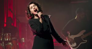 'It's mad being a new mum': Jessie Ware performing at the Lido, Berlin, in September. Photograph: Frank Hoensch/Redferns