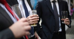 One in five Irish people said they experienced 'guilt' or 'remorse' after drinking alcohol in the last 12 months, according to  a new survey.  File photograph: Philip Toscano/PA Wire