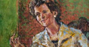 Portrait of Mary Robinson by Derek Hill
