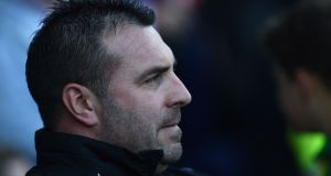 Everton have appointed their Under-23 coach David Unsworth as caretaker manager following the sacking of Ronald Koeman. Photograph: Getty Images