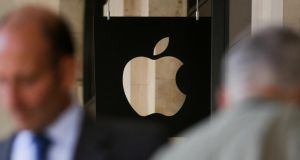 Apple back taxes: the tech giant had cash reserves of $261.5 billion, or €223 billion, in early July. Photograph: Daniel Leal-Olivas/AFP/Getty