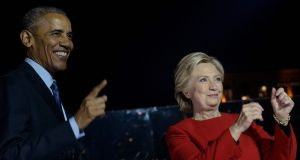 Republican lawmakers  announced two new probes targeting Democrats Barack Obama and Hillary Clinton. Photograph: Brendan Smialowski/AFP/Getty Images