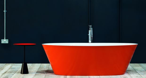 Bon Calabar Free Standing Bath From Adamsez, Painted With The Rich And Mellow  Farrow U0026
