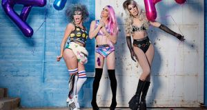 The AAA girls featuring Willam, Courtney Act and Alaska: Getting  dressed-up for a   drag show is half the fun