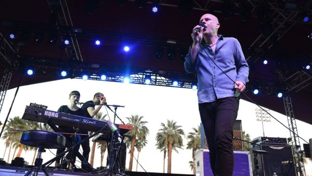 "Philip Selway at the Coachella Music Festival in California in 2015. ""If you're still making music that excites you and other people, music that people connect with, and you can still cut it live, then age shouldn't be a barrier."" Photograph: Scott Dudelson/FilmMagic"