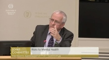 Mattie McGrath storms out of committee on the Eighth Amendment
