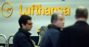 Lufthansa plans to spend €1.5 billion on buying 81 of the defunct Air Berlin's aircraft and hiring 1,700 of its staff. Photograph: Maurizio Gambarini/AFP/Getty Images