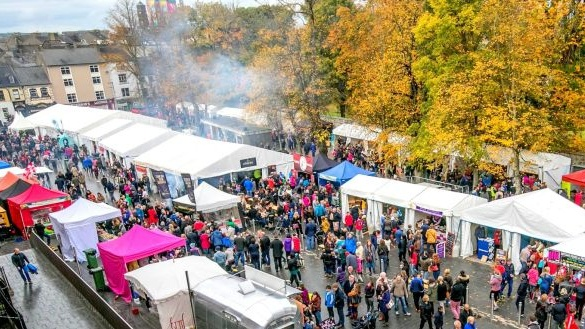 Savour Kilkenny (Oct 27th-30th) brings together local and national food produce and chefs for food markets and cookery demonstrations with plenty of local restaurants, hotels and bars getting in on the act