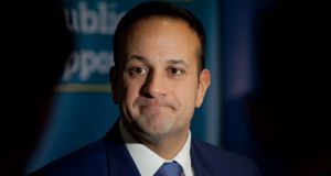 Taoiseach Leo Varadkar said the Sinn Féin leader was 'setting the scene to ensure someone else is getting the blame' over the impasse in Northern Ireland. Photograph: The Irish Times