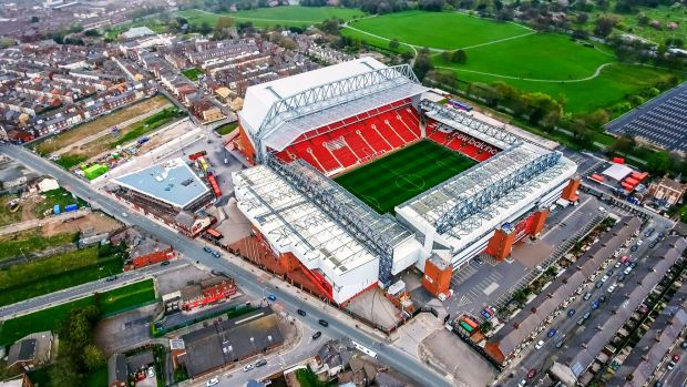Anfield Stadium - take a day trip to the Liverpool v Spartak Moscow match on December 6th