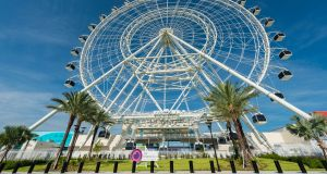 The Orlando Eye is the largest observation wheel on the East Coast of the USA.