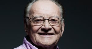 2fm's 'relevant' and 'evergreen' Larry Gogan has added 15,000 to his Saturday listenership. Photograph: RTÉ.