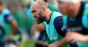 John Muldoon will captain Connacht for their Pro14 clash with Munster at the Sportsground in Galway on Friday night. Photo: James Crombie/Inpho